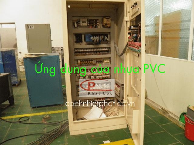 Ứng dụng nhựa PVC làm khung vỏ thiết bị điện