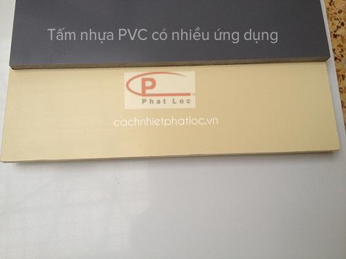 Ứng dụng tấm nhựaPVC