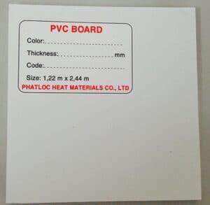 Tấm nhựa PVC sử dụng trong sản xuất và thiết kế nội thất