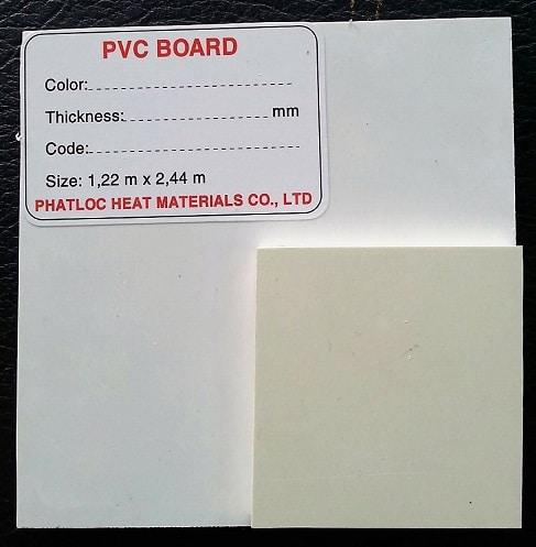 tính chất vật lý tấm nhựa PVC
