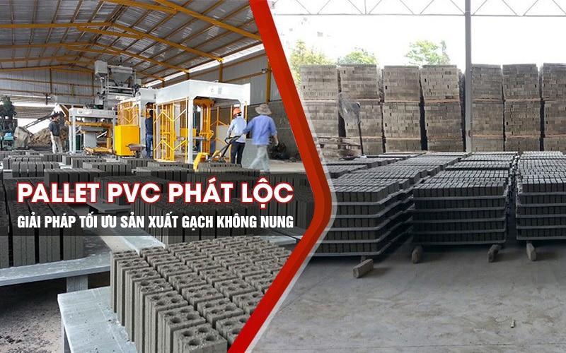 Pallet nhựa PVC